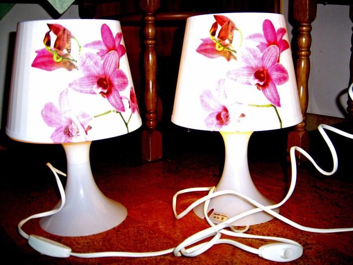Aufgepeppte Nachttischlampen Von Ikea Bastelideen
