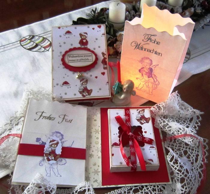 weihnachtliche teelichtkarte weihnachtskarten karten. Black Bedroom Furniture Sets. Home Design Ideas