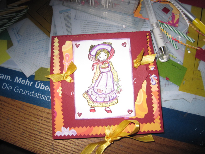 Fur Eine Liebe Bekannte Zum Geburtstag Bastelideen Karten